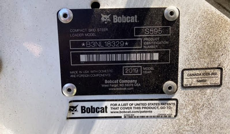 Used 2019 Bobcat S595 full