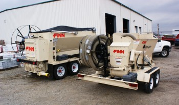 Finn BB 5-Series Bark & Mulch Blower full