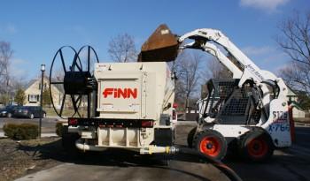 Finn BB 5-Series Bark & Mulch Blower full