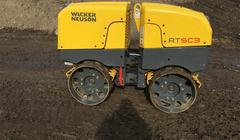 Used 2017 Wacker RTKX SC3 – Trench Roller full