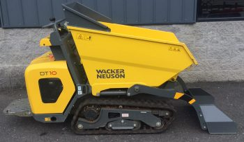 Used 2019 Wacker DT10 Track Dumper full